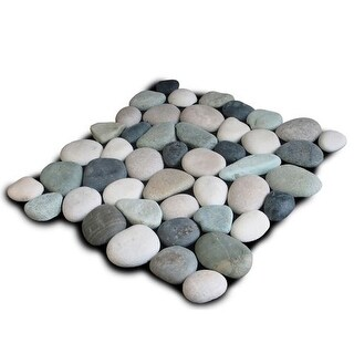 Miseno MT-P3PGBT Pebble Natural Stone Mosaic Tile (10.12 SF / Carton)