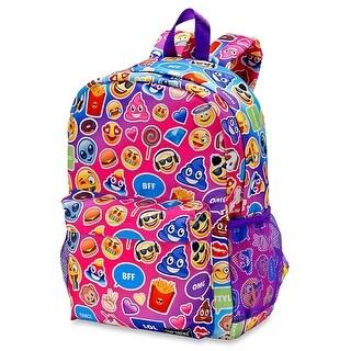 Lavender Mojicon Funk 2 Zipper Backpack - Multi