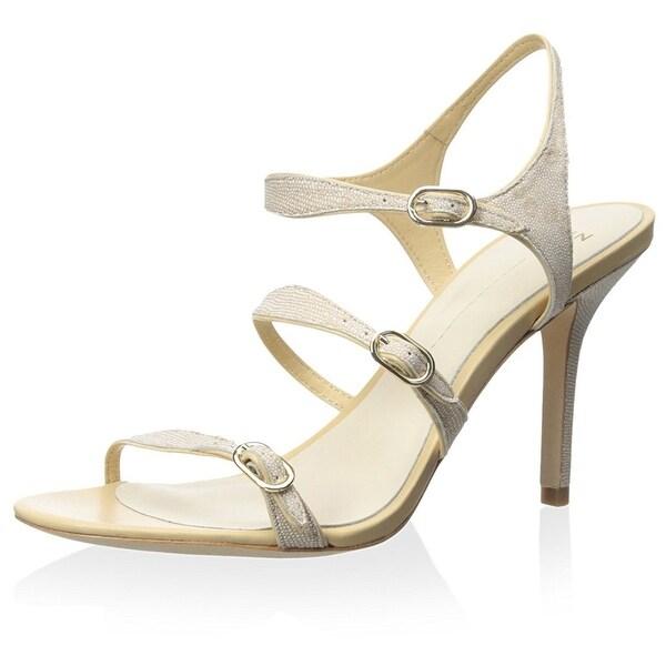 Aerin NEW Beige Shoes Size 9M Strappy Leather Caroline Heels