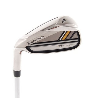New TaylorMade RocketBladez 4-Iron FST R-Flex Steel LEFT HANDED