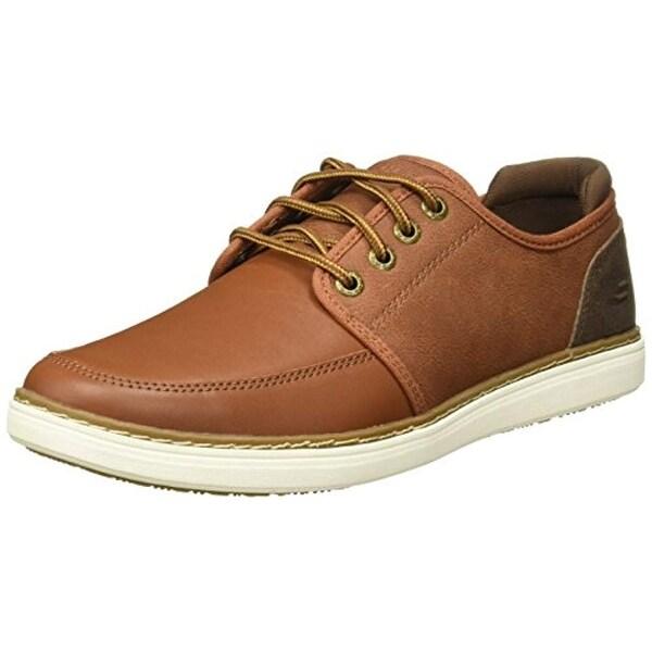Skechers Lifestyle 65270 Men's Lanson Nelven Shoe, Luggage 8