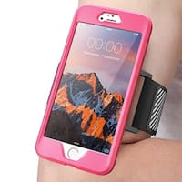 SUPCASE- Apple iPhone 7 Plus Case,Sport Armband-Flexible Case-Pink