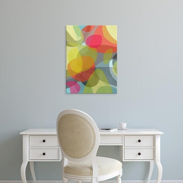 Easy Art Prints Jan Weiss's 'Layered Earth Two' Premium Canvas Art