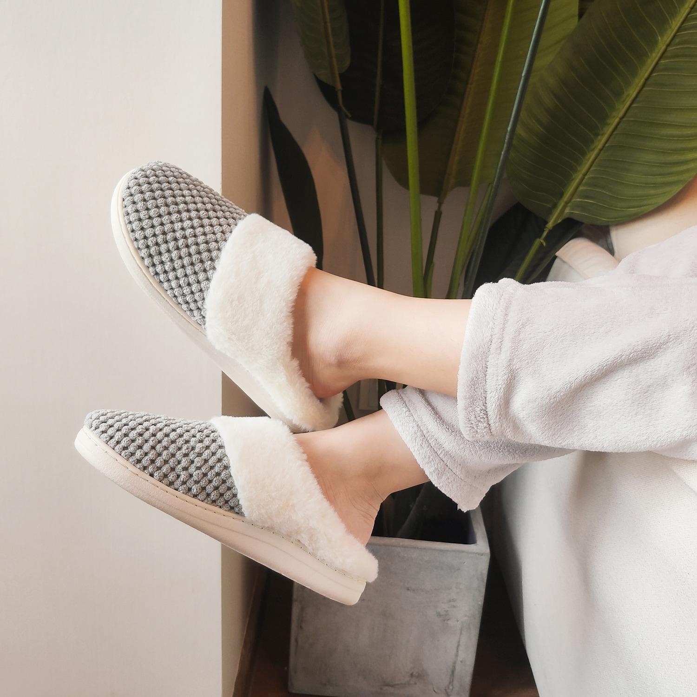 VONMAY Women's Slippers House Shoes Fleece Fuzzy Plush Lining Comfort  Memory Foam Slip On Clog Coral Indoor/Outdoor - Overstock - 25737214