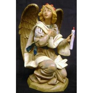 "Fontanini 7.5"" Kneeling Angel Nativity Figurine #72818"