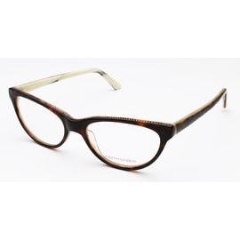 Judith Leiber Women's Classics Eyeglasses Topaz/Bone - S