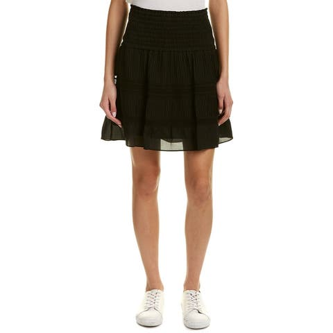 A.L.C. Misha Silk Mini Skirt