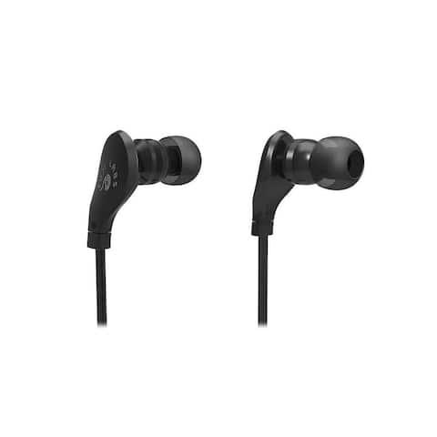 Fuji Labs Sonique SQ203 Designer In-Ear Headphones with In-line Mic (Black, 2 Pack, 4 Pack, 5 Pack)