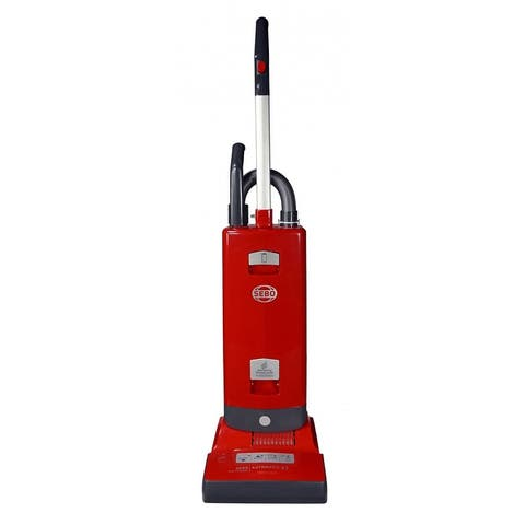 Sebo Automatic X7 91503AM Upright Vacuum Cleaner (Red)