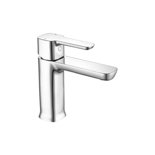 Delta 581lf Hgm Pp Modern 5 Gpm Single Hole Bathroom Sink Faucet With