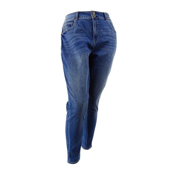 909dba7e0e3 Shop American Rag Womens Plus Size Griffith Wash Skinny Jeans (22W ...