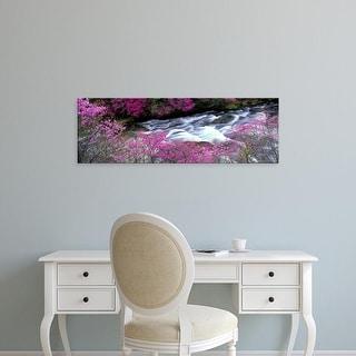 Easy Art Prints Panoramic Images's 'Ryuzu Falls Tochigi Japan' Premium Canvas Art