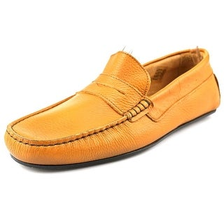 Sebago Tirso Penny Men Moc Toe Leather Tan Loafer