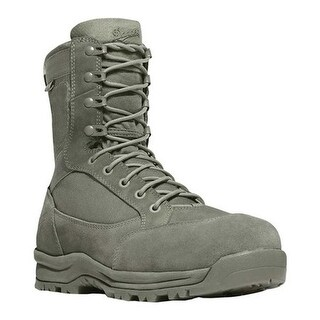 "Danner Men's Tanicus 8"" Danner Dry Non Metallic Toe Boot Sage Leather/Nylon"