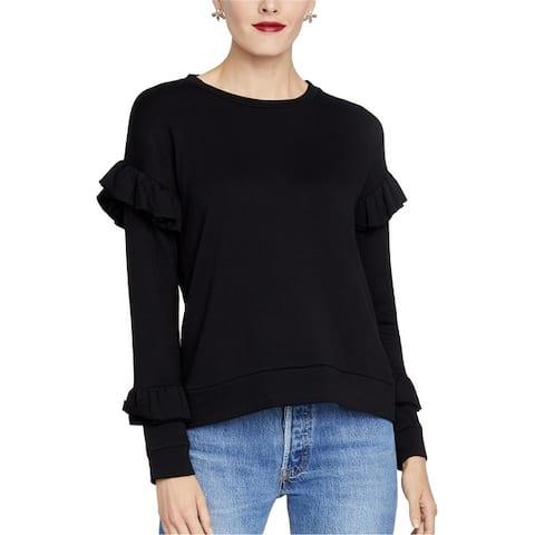 Rachel Roy Womens Ruffled Pullover Sweater