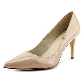 ShoeMint Sawyer Women  Pointed Toe Synthetic Nude Heels
