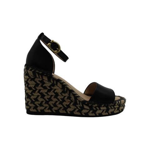 Coach Women's Shoes Kit wdge ltr Open Toe Casual Platform Sandals - 5