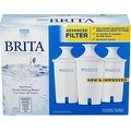 Brita Water Pitcher Replacement Filters, White 3 ea - Thumbnail 0
