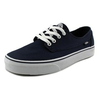 Vans Brigata Women Round Toe Canvas Blue Skate Shoe