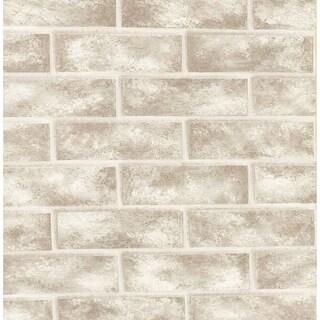 Brewster 412-56947 Urbania 56 Square Foot Brick Imitating Expanded Vinyl Wallpap