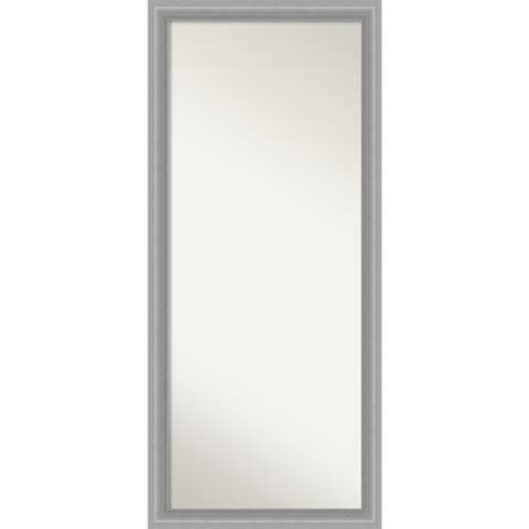 Peak Polished Decorative Full Length Floor / Leaner Mirror