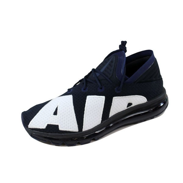Nike Men's Air Max Flair Dark Obsidian/White 942236-400