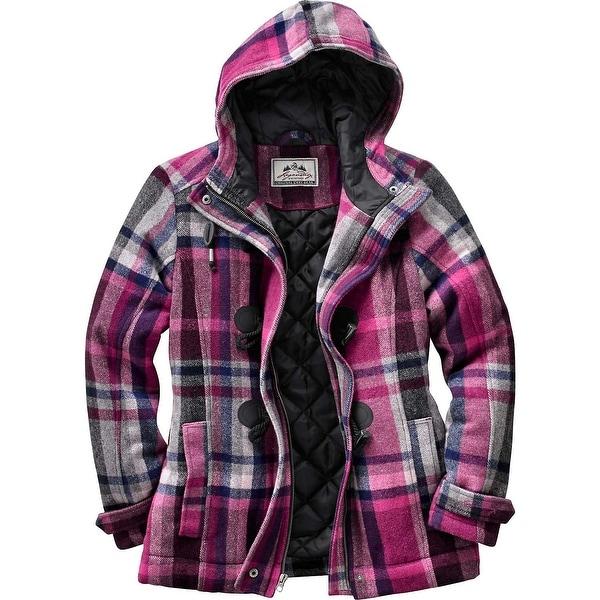 Legendary Whitetails Ladies Dusty Trail Plaid Jacket