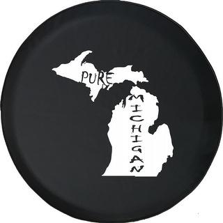 Spare Tire Cover Pure Michigan State Pride