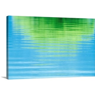 """""""Reflection of a tree in water"""" Canvas Wall Art"""