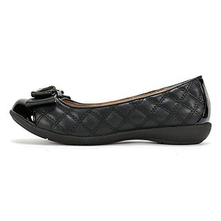 White Mountain Women's Motel Quilted Ballerina Flats