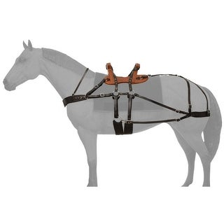 Tough-1 Saddle Classic Sawback Pack Working Horse Durable Tack
