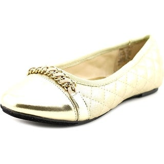 Ivanka Trump Charlotte Ballet Round Toe Leather Flats