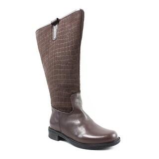 David Tate Womens Best 20 Brown Fashion Boots Size 4.5