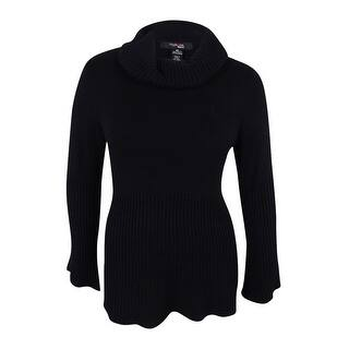 Style & Co. Women's Cowl-Neck Bell-Sleeve Babydoll Sweater|https://ak1.ostkcdn.com/images/products/is/images/direct/6ff54cb4dd4e09ff32bfe91c2848a0c42e8c3620/Style-%26-Co.-Women%27s-Cowl-Neck-Bell-Sleeve-Babydoll-Sweater.jpg?impolicy=medium