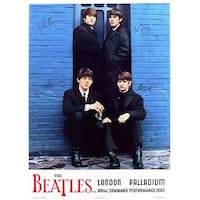 ''The Beatles: London Palladium, 1963'' by Anon Music Art Print (32.25 x 21.75 in.)