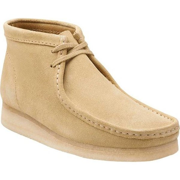 Clarks Men's Wallabee Boot Maple Suede