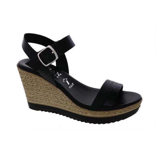 da9b43d9e22ab Shop Italian Shoemakers Womens Wella Fashion Wedge Espadrille ...