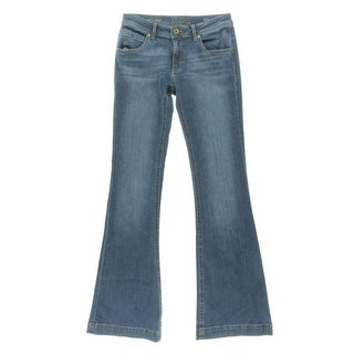 DL1961 Womens Joy Flare Jeans Denim High Waist - 25
