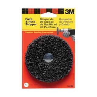 "3M 7771 Paint And Rust Stripper 4'', 1/4"" Arbor"