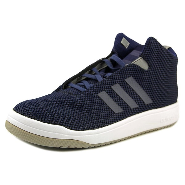 Adidas Veritas Mid Men Round Toe Canvas Blue Sneakers