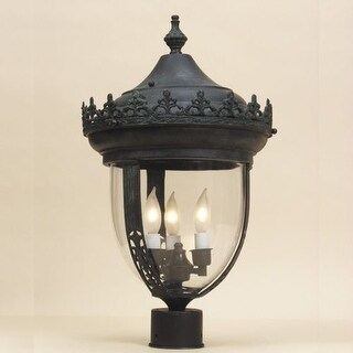 JVI Designs 1115 3 light Post Lights Post Light from the Outdoor Lighting collection