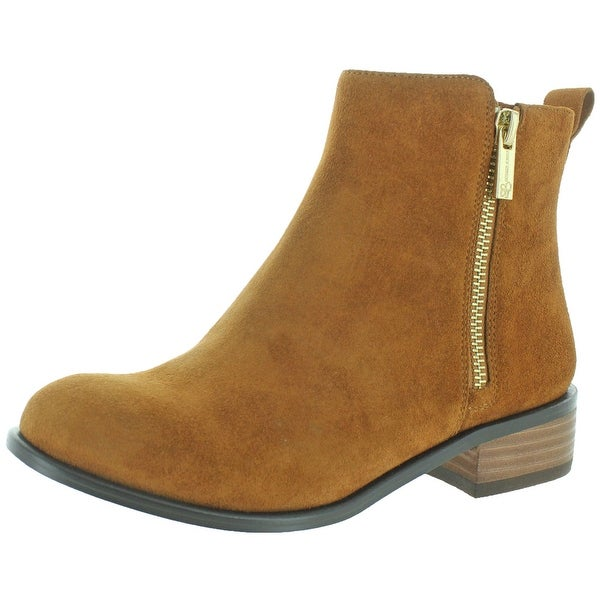 2615f43b37f Shop Jessica Simpson Kesaria Casual Leather Booties - Free Shipping ...