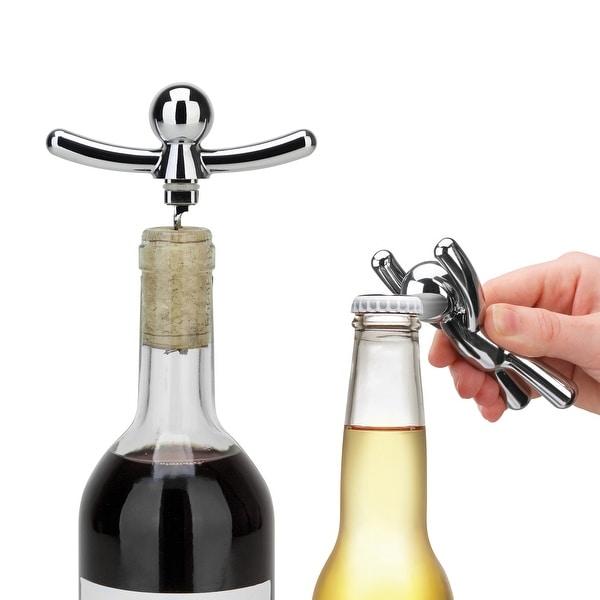 Umbra BUDDY Corkscrew and Bottle Opener Set. Opens flyout.
