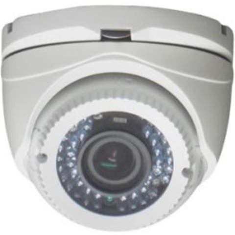 2.8 - 12 mm Lens Full HD-TVI Varifocal Infrared Turret Camera 1080P