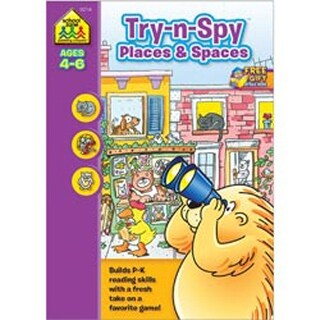 Try 'N Spy Places And Spaces - Preschool Workbooks 32 Pages