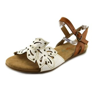 Baretraps Sunny Youth Open Toe Synthetic Tan Sandals