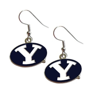 BYU Cougars Y Logo Dangle Logo Earring Set Charm Gift