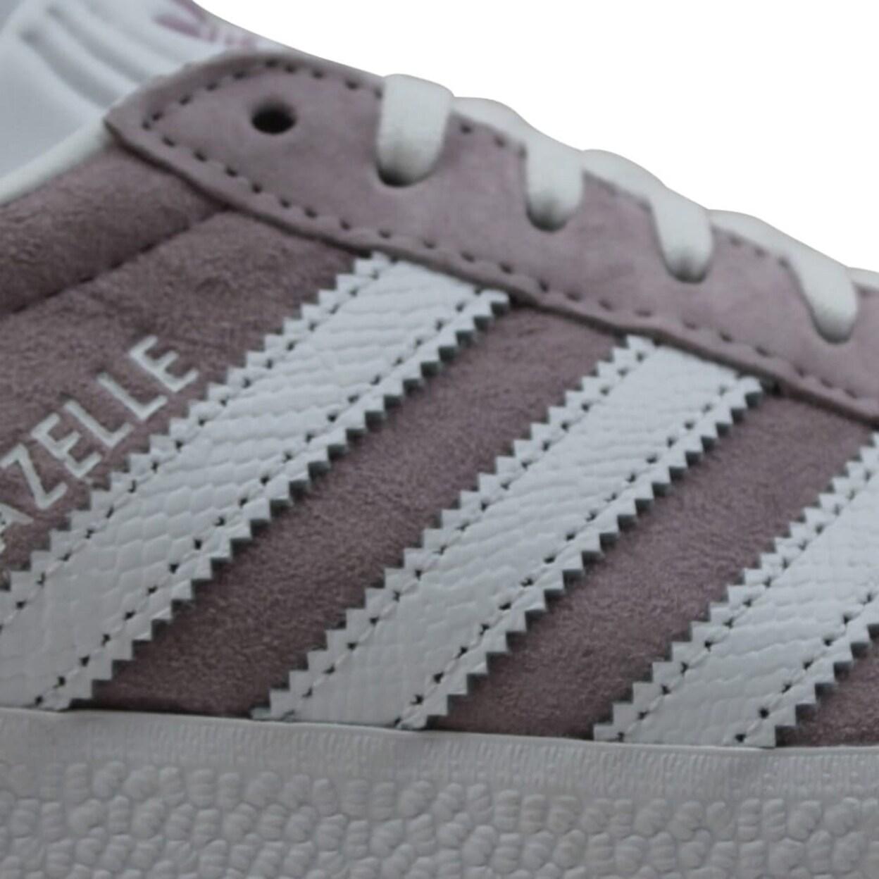 Adidas Gazelle W White/Light-Purple Ee5540 Women's