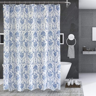 """Link to Blue Wisteria Lattice Shower Curtain 72""""W x 72""""L Similar Items in Blankets & Throws"""