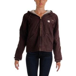 Carhartt Womens Cotton Insulated Basic Coat - XS